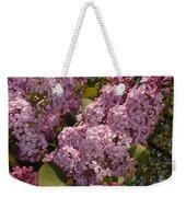 Lush Lilacs Weekender Tote Bag