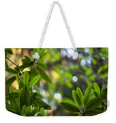 Lush Rhododendron Forest Weekender Tote Bag
