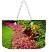 Lush Summer Garden Weekender Tote Bag by Elena Elisseeva