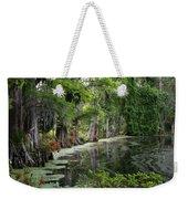 Lush Swamp Vegetation Weekender Tote Bag