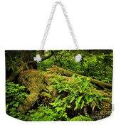 Lush Temperate Rainforest Weekender Tote Bag