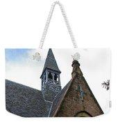 Luss Church Steeple Weekender Tote Bag