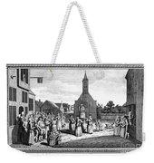 Lutheran Wedding, 1700s Weekender Tote Bag by Granger