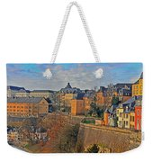 Luxembourg Fortification Weekender Tote Bag