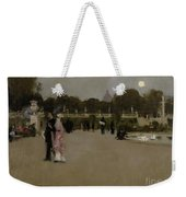 Luxembourg Gardens At Twilight Weekender Tote Bag