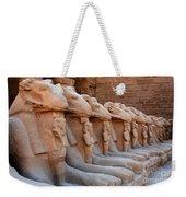 Luxor Temple 3 Weekender Tote Bag
