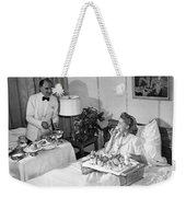 Luxurious Room Service Weekender Tote Bag