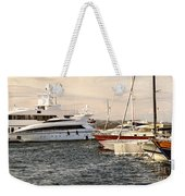 Luxury Boats At St.tropez Weekender Tote Bag
