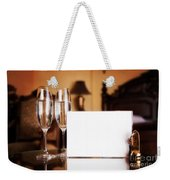 Luxury Hotel Room Weekender Tote Bag