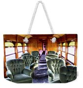 Luxury Lounge Car Of Early Railroading Weekender Tote Bag