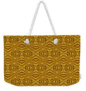 Luxury Red And Gold Foil Christmas Pattern Weekender Tote Bag