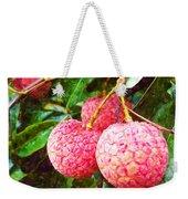 Lychee Fruit  Weekender Tote Bag
