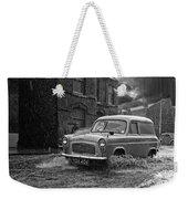 Lye Rain Storm, Ford Prefect Van - 1960's    Ref-244 Weekender Tote Bag