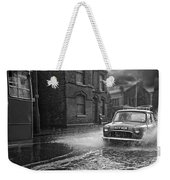 Lye Rain Storm, Morris Mini Car - 1960's    Ref-246 Weekender Tote Bag