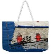 Lyme Regis Harbour - December Weekender Tote Bag