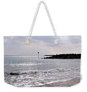 Lyme Regis Seascape - March Weekender Tote Bag