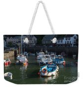 Lynmouth Harbour Devon Weekender Tote Bag