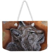Lynx Face Weekender Tote Bag