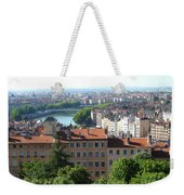 Lyon From Above Weekender Tote Bag