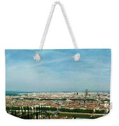 Lyon From The Basilique De Fourviere-color Weekender Tote Bag