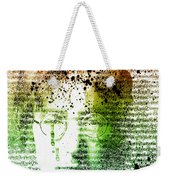Lyrical Memories  Weekender Tote Bag