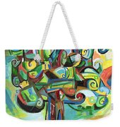 Lyrical Tree Weekender Tote Bag