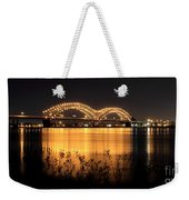 The Hernando De Soto Bridge M Bridge Or Dolly Parton Bridge Memphis Tn  Weekender Tote Bag