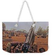 M102 105mm Light Towed Howitzer  2 9th Arty At Lz Oasis R Vietnam 1969 Weekender Tote Bag