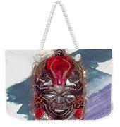 Maasai Mask - The Rain God Ngai Weekender Tote Bag