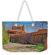 Mabel Dodge Luhan's Courtyard Weekender Tote Bag