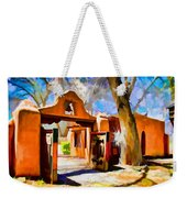 Mabel's Gate As Oil Painting Weekender Tote Bag