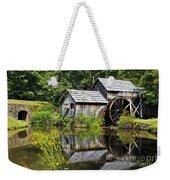 Mabry Mill In Virginia Weekender Tote Bag