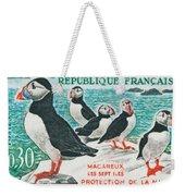 Macareux Seven Islands Conservation Weekender Tote Bag