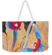 Macaw Claylick Weekender Tote Bag