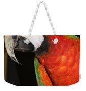 Macaw Profile Weekender Tote Bag