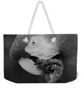 Macaws Of Color B W 18 Weekender Tote Bag
