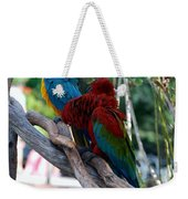 Macaws Of Color24 Weekender Tote Bag