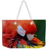 Macaws Of Color26 Weekender Tote Bag