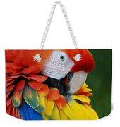 Macaws Of Color28 Weekender Tote Bag
