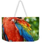 Macaws Of Color31 Weekender Tote Bag