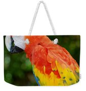 Macaws Of Color33 Weekender Tote Bag