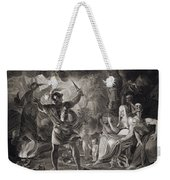 Macbeth, The Three Witches And Hecate Weekender Tote Bag