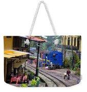 Macchu Picchu Town - Peru Weekender Tote Bag