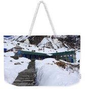 Machhapuchchhre Base Camp, Nepal  Weekender Tote Bag