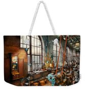 Machinist - Back In The Days Of Yesterday Weekender Tote Bag by Mike Savad