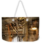 Machinist - In The Age Of Industry Weekender Tote Bag by Mike Savad