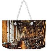 Machinist - Machine Shop Circa 1900's Weekender Tote Bag