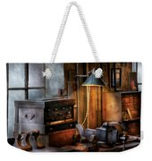Machinist - My Workstation Weekender Tote Bag by Mike Savad