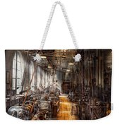 Machinist - Welcome To The Workshop Weekender Tote Bag