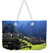 Machu Picchu And Urubamba Canyon Weekender Tote Bag